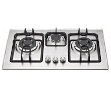Cast Iron Pan Supporter 3 Gas Burner, Gas Cooker