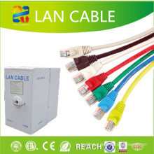 4 pares de cabo de remendo CAT6 LAN Cable