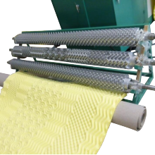 cleaning sponge head clicker press cutting machine