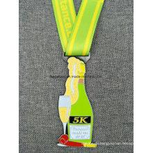 Hochwertige Band Hals Lanyard Karnevals Medaille
