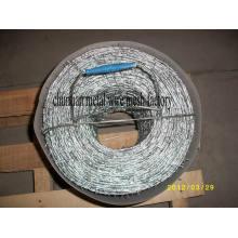 Arame Farpado Galvanizado 1.4mmx1.6mmx5′′ for Fencing