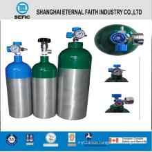 10L Portable Medical Oxygen Aluminum Gas Bottles