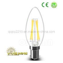 Lâmpada de filamento do diodo emissor de luz de B15D C35 3.5W