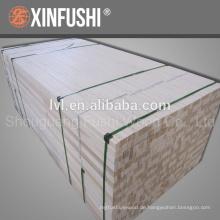 Pappel lvl für Verpackung und Möbel am längsten 12m