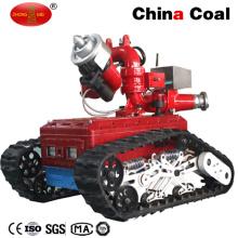 Robot de extinción de incendios teledirigido con batería Ym-40d