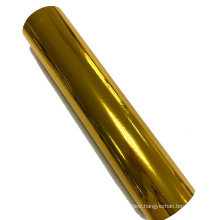 Gold metalized pet film for thermal lamination