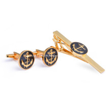Professional Customized Men Cufflinks And Tie Clip