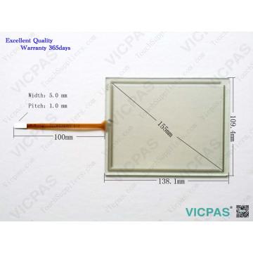 Touchscreen 6AV6640-0CA11-0AX1 TP177 MICRO Touch Screen Panel glass