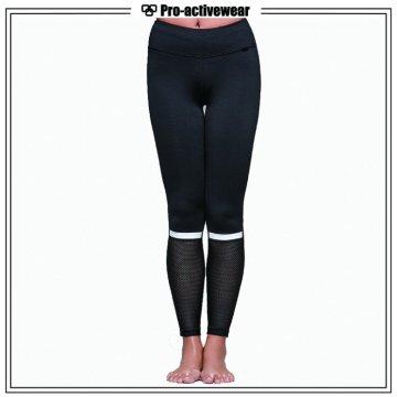 Alta qualidade de treino palavras impressão mulheres yoga calças
