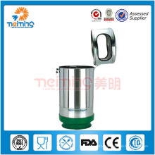 double wall stainless steel trash bin