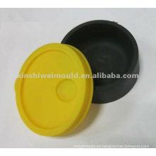 fabricación personalizada de tapa de goma suave moldeada