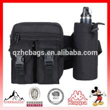 Bolso militar de la cintura del paquete corriente de la cintura con el tenedor de botella