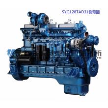 Двигатель G128, 227 кВт, Дизельный двигатель Shanghai Dongfeng для генераторной установки