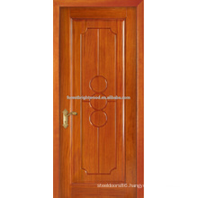 Honeay Wheat Paited Single Wood Carving Door Design,Hotel Interior Door