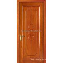 Honeay пшеница тонирование сингл резьба по дереву дверь дизайн, интерьер отеля дверь