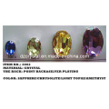 Point Back Crystal Oval Shape (3002)