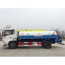 8500L 4x2 Dongfeng Water Tanker Trucks