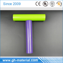 Tuyau noir coloré en PVC de PVC de tuyau rigide en vrac de PVC