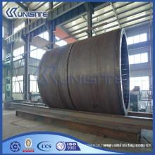 Tubo de enchimento de aço de alta resistência para infra-estrutura de tráfego de túneis (USD1-002)