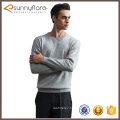 Custom design 100 cashmere mens sweater pullover model on sale