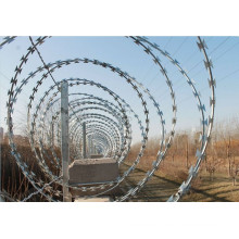 BTO-22 Razor barbed wire /CBT galvanized razor wire