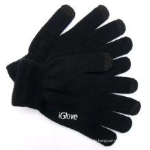 Herrenmode Acryl gestrickte Touch Screen Handschuhe (YKY5459)