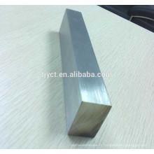 barre d'acier inoxydable dessinée par barre carrée froide 8 * 8 10 * 10 12 * 12