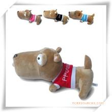 Lies Prone Dog Peluche Jouets pour la promotion