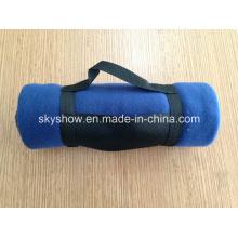 Флисовой одеяло нейлон ручкой (SSB0123)