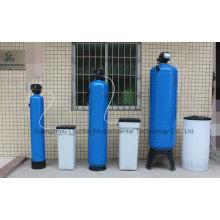 Sistema de suavizado de resina de agua dura Buen precio Máquina de tratamiento de caldera