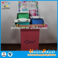top quality plastic hair accessories display stand