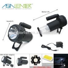 Projecteur LED d'urgence télescopique 3W + 10SMD