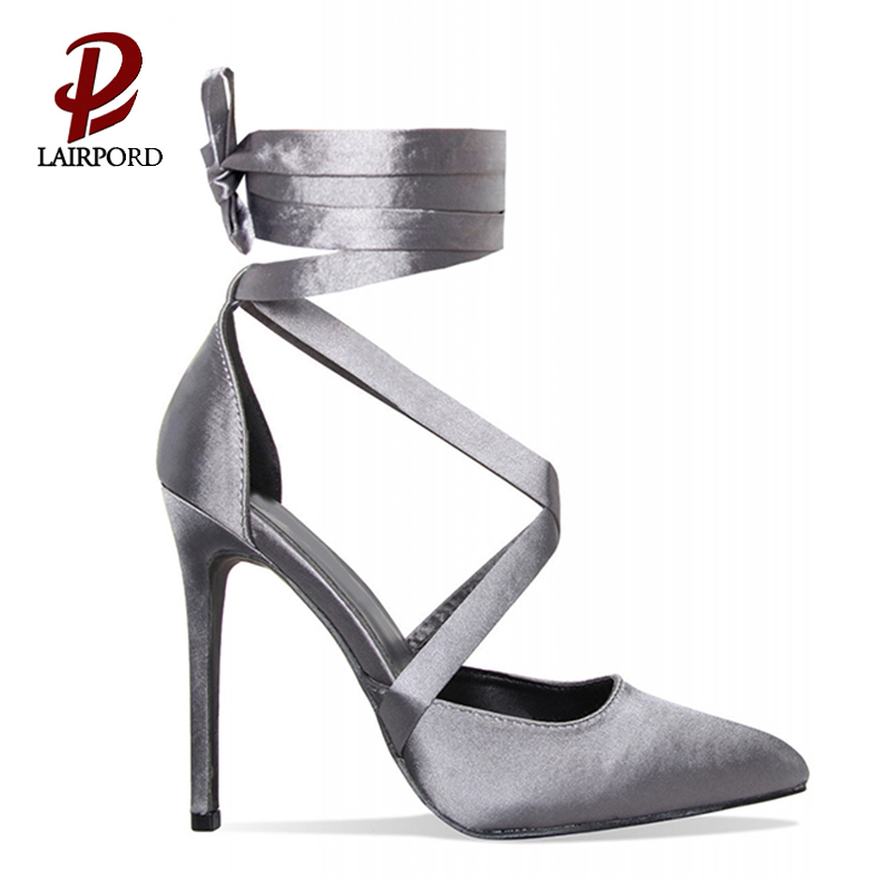 elegant purple high heel ladies pumps wholesale