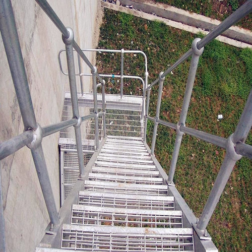 Steel Grating Fire Escape Stirs