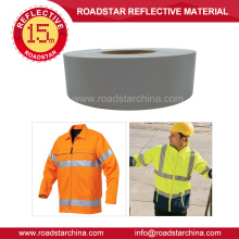 T/C backing industrial washable reflective fabric