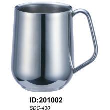 Sdc-430 18/8 Tasse à double paroi en acier inoxydable Sdc-430