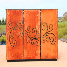 Decorative Steel Laser Cut Outdoor Metal Screen
