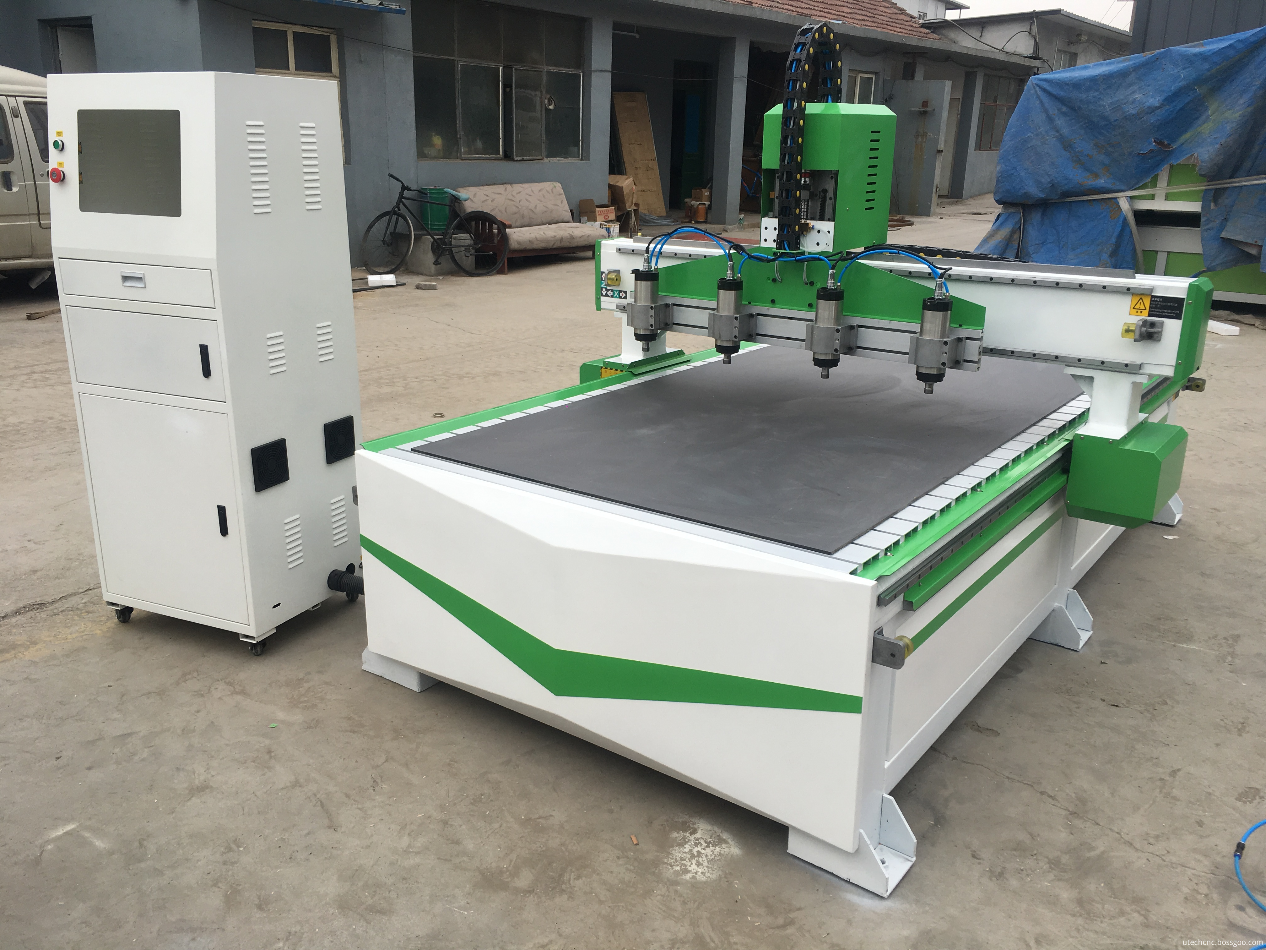 cnc router for metal work