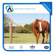 El 1.8 * 2.4m galvanizó la cerca de la pradera de la cerca del ganado del panel de la granja