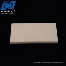 placa de quema de cerámica al2o3 de alta calidad