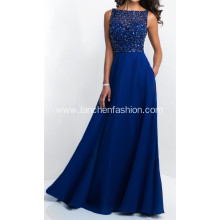 New Style Beading Bridesmaid Prom Dress