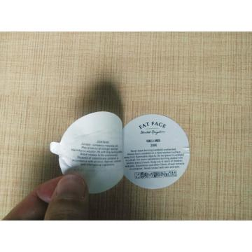 Double sided label sticker printing