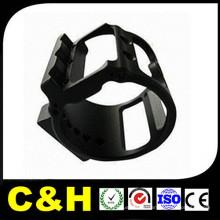 CNC Precision Usinage Tournage pour pièces en acier / laiton / plastique / aluminium 6061-T6 7075-T6