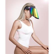 Acessórios de moda chapéu viseira de ouro proteção UV