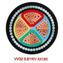 Câble d'alimentation blindé blindé en acier isolé en PVC (1KV 4-185)