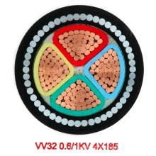 Cabo de alimentação blindado do fio de aço isolado do PVC (1KV 4-185)