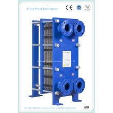 316L y 304 Stainles Intercambiador de calor de placa de junta de acero para esterilización y enfriamiento de alimentos (BR03K-1.0-26-E)