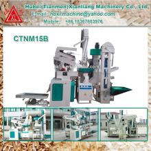 1000кг-1500кг в час завод пропаренный рис фрезерные машины