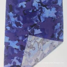 100% шелковая ткань с цветочным принтом из вискозы и поплина