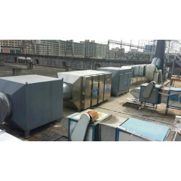 Plasma optical oxygen purifier gas cleaning equipment